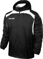 Ветровка детская Kelme Windproof Rain Jacket Kids / K15S607-1-000 (р-р 140, черный) -