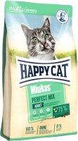 Корм для кошек Happy Cat Minkas Perfect Mix Домашняя птица, рыба и ягненок / 70414 (1.5кг) -
