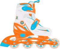 Роликовые коньки Ridex Cricket (р-р 35-38, оранжевый) -