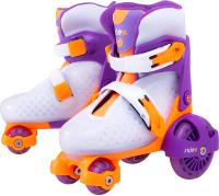 Роликовые коньки Ridex Fortuna (р-р 30-33, пурпурный) -