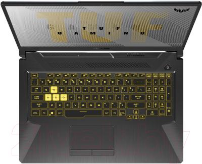 Игровой ноутбук Asus TUF Gaming A17 FA706IU-H7045