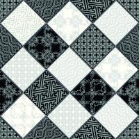 Линолеум Juteks Strongru Plus Chess 4 990D (2x2м) -