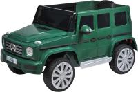 Детский автомобиль Farfello BBH-0003 (экокожа, темно-зеленый) -