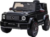 Детский автомобиль Farfello BBH-0003 (экокожа, черный) -