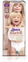 Подгузники-трусики детские Libero Touch 6 (30шт) -