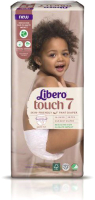 Подгузники-трусики детские Libero Touch 7 (28шт) -