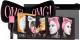 Набор косметики для лица Double Dare OMG SPA Маска 4шт + Кисть + Бант-повязка (черный) -