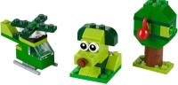 Конструктор Lego Classic Набор для конструирования / 11007 (зеленый) -