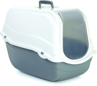Туалет-домик Beeztees Ромео / 400482 (серый) -