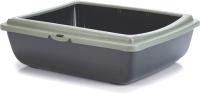 Туалет-лоток Beeztees PanJuliet ЭКО / 400533 (серый) -