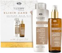 Набор косметики для волос Lisap Top Care Repair Elixir Care Шампунь 250мл+Масло 150мл -