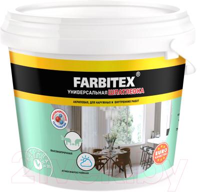 Шпатлевка Farbitex Для наружных работ