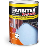 Гидроизоляционная мастика Farbitex Резиновая (2кг) -