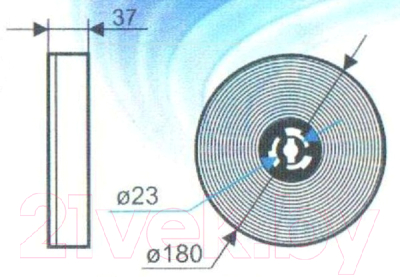 Угольный фильтр для вытяжки ОАО БРТЗ ФК1 / 16с340 (кассетный)
