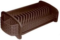 Сушилка для посуды Violet Ротанг / 270101 (коричневый) -