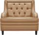 Кресло мягкое Brioli Чикаго (L4/кремовый) -