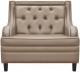 Кресло мягкое Brioli Чикаго (L7/бежевый) -