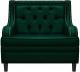 Кресло мягкое Brioli Чикаго (L15/зеленый) -
