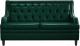 Диван Brioli Чикаго двухместный (L15/зеленый) -