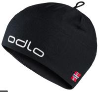 Шапка Odlo LXLXILPWUA / 772120-60067 (черный/норвежский флаг) -