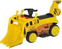 Детский автомобиль Farfello Спецтехника с ковшом / S123 (желтый) -