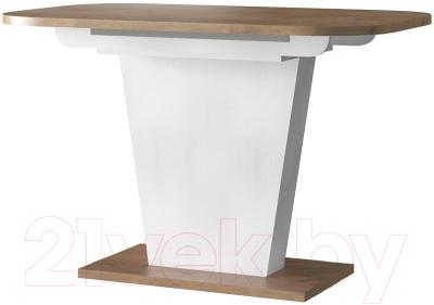 Обеденный стол Eligard Sheldon 118(157)х72х76 (дуб натуральный)