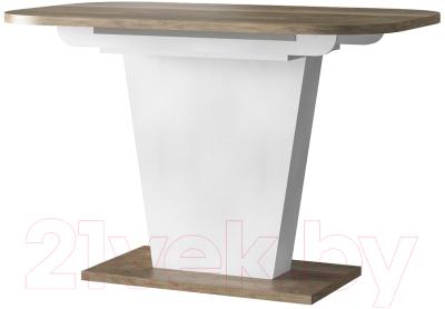 Обеденный стол Eligard Sheldon 118(157)х72х76 (дуб каньон)