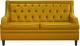Диван Brioli Чикаго двухместный (L17/желтый) -