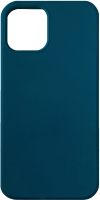 Чехол-накладка Digitalpart Silicone Case для iPhone 12/12 Pro (темно-синий) -