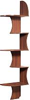 Угловое окончание для шкафа Мебель-КМК Угловая Б 0320.4 (орех донской/орех) -