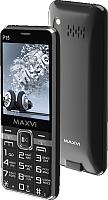 Мобильный телефон Maxvi P15 (черный) -