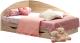 Односпальная кровать Мебель-КМК 800 0302 (дуб сонома) -