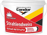 Краска CONDOR Strahlendweiss (3.75кг) -