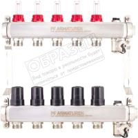 Коллектор Profactor PFMB806.6 (c термостатическими клапанами) -