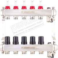 Коллектор Profactor PFMB806.7 (c термостатическими клапанами) -