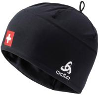 Шапка Odlo HIJD6UYLL5 / 772120-CHFBL (черный/швейцарский флаг) -