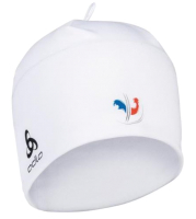 Шапка Odlo ZDAYNAV4R7 / 772120-FFW01 (белый/французский флаг) -