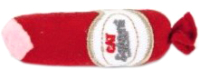 Игрушка для животных Beeztees Салями / 430442 (красный) -