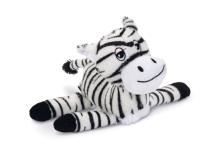 Игрушка для животных Beeztees Zappy плюшевая зебра / 619236 -