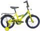 Детский велосипед Black Aqua DD-1202 (лимонный) -
