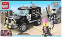 Конструктор Brick Полицейская машина / 1110 (190дет) -