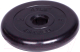 Диск для штанги MB Barbell Atlet d51мм 1.25кг (черный) -