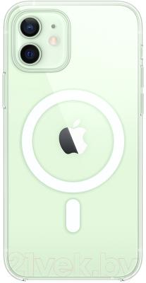 Чехол-накладка Apple Clear Case With MagSafe для iPhone 12/12Pro / MHLM3