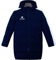 Куртка детская Kelme Padding Jacket Kids / 3883406-424 (р.130, темно-синий) -
