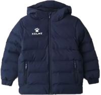Куртка детская Kelme Padding Jacket Kid / 3893421-416 (р.160, темно-синий) -
