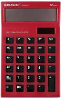Калькулятор Darvish DV-2725-12R (красный) -