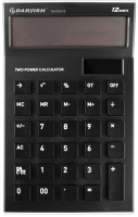 Калькулятор Darvish DV-2725-12K (черный) -