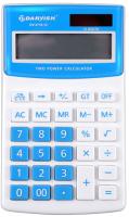 Калькулятор Darvish DV-2716-12B (белый/голубой) -