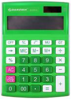 Калькулятор Darvish DV-2707-12N (зеленый) -