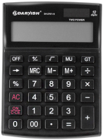Калькулятор Darvish DV-2707-12K (черный) -